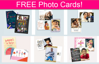 FREE 5X7 Photo Cards! *EASY*