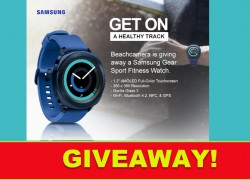 WIN a Samsung Fitness Watch!!!