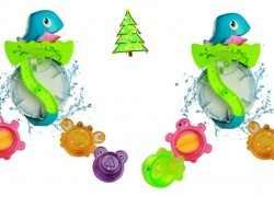FUN & Cheap Bath Toy! THINK Christmas ONLY $7.28 !