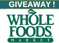 Win $100 Whole Foods Gift Card, 1 a month for a year!! Wow!!