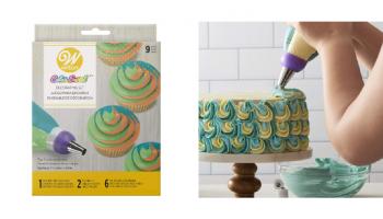 EPIC DEAL! Wilton Color Swirl 9 Piece Cake Decorating Kit!