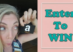 Win an AMAZON Gift Card From Me!