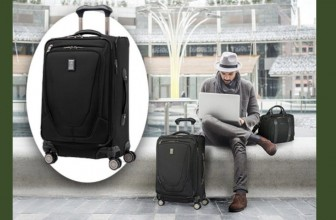 Win a TravelPro Crew Expandable Spinner Suitcase! ( Worth $230 ) !