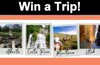 Win a Vacation!!! choose from 4 different location!!