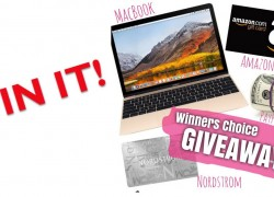 Win a Mac Book or Cash or Other Prizes!