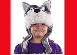 $3.57 (reg $25) Kids Wolf Animal Hat!