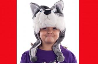 $3.57 (reg $25) Kids Wolf Animal Hat!
