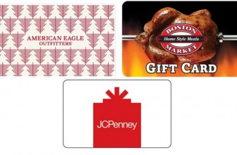 WHOA! $50 Gift Cards for ONLY $40!