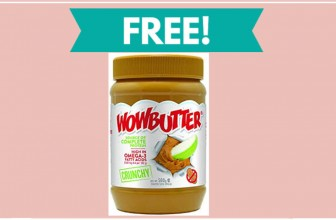 Hurry! Free Sample of WOW Butter!