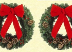 Enter TO win a BEAUTIFUL Christmas Wreath !