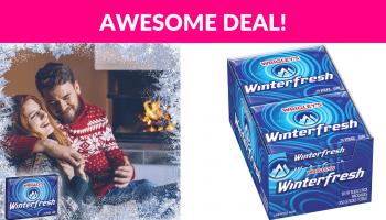 Wrigley's Winterfresh Gum (10 Packs)